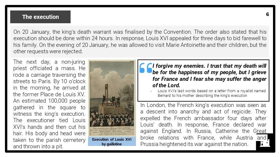 A Level The Reign of Terror, 1792-1795 Presentation 2