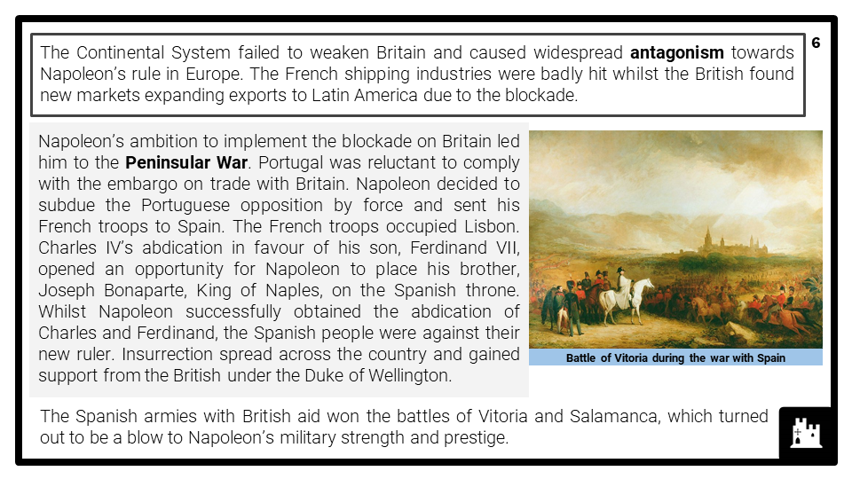 A Level The decline and fall of Napoleon 1807-1815 Presentation 2