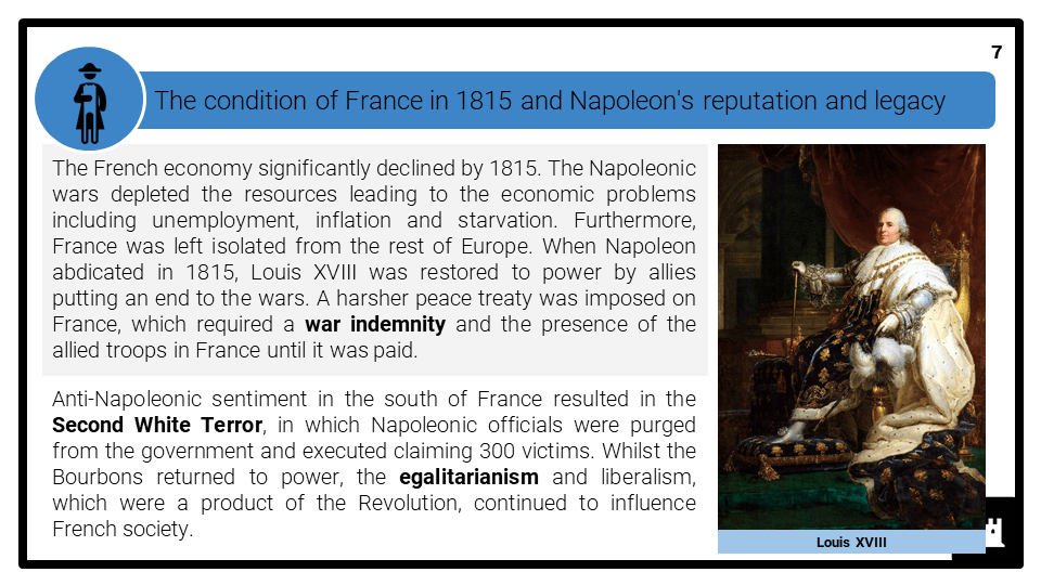 A Level The decline and fall of Napoleon 1807-1815 Presentation 3