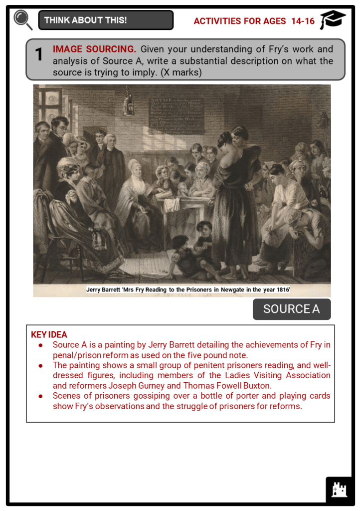 Elizabeth Fry Student Activities & Answer Guide 4