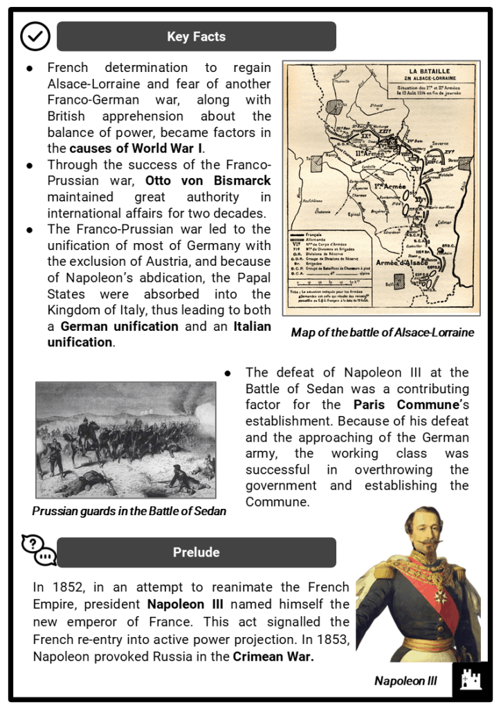 Franco-Prussian War Resource Collection 2