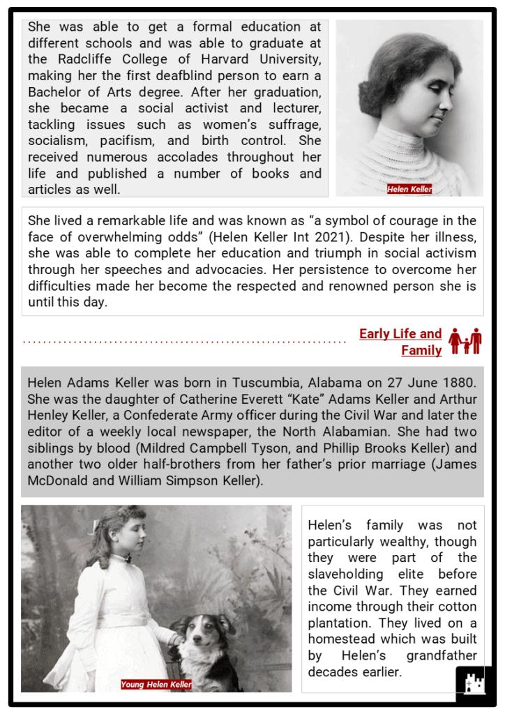 Helen Keller Resource Collection 2