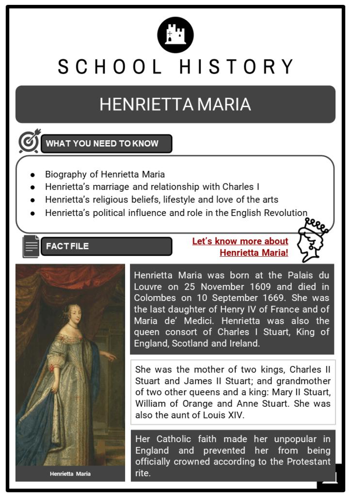 Henrietta Maria Resource Collection 1