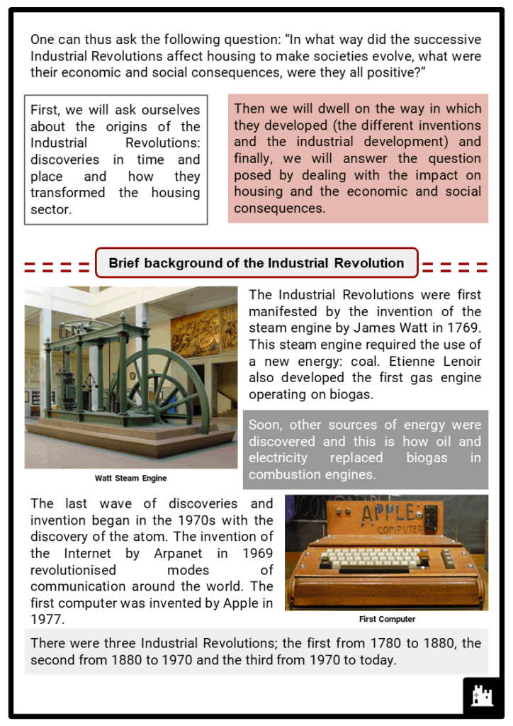 Industrial Revolution Housing Resource Collection 2