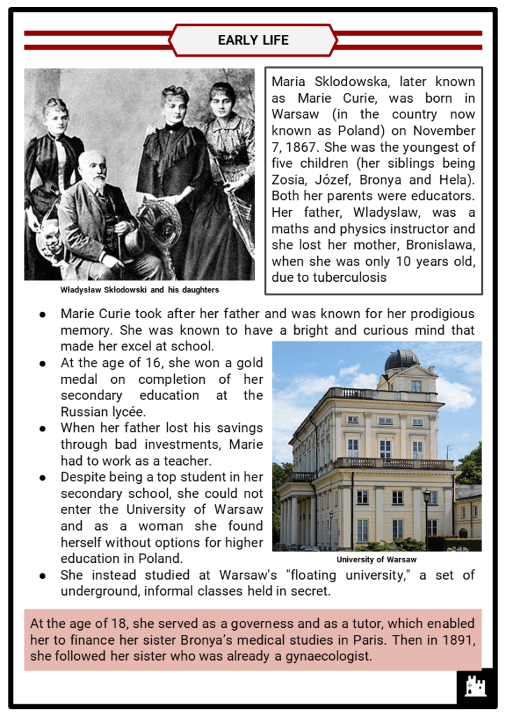 Marie Curie Resource Collection 2
