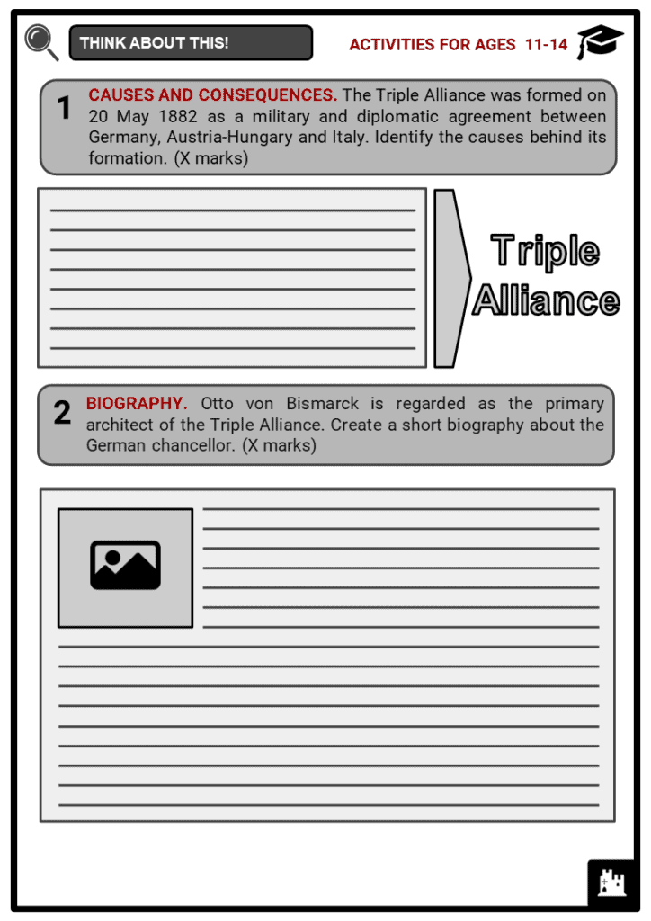 The Triple Alliance Student Activities & Answer Guide 1