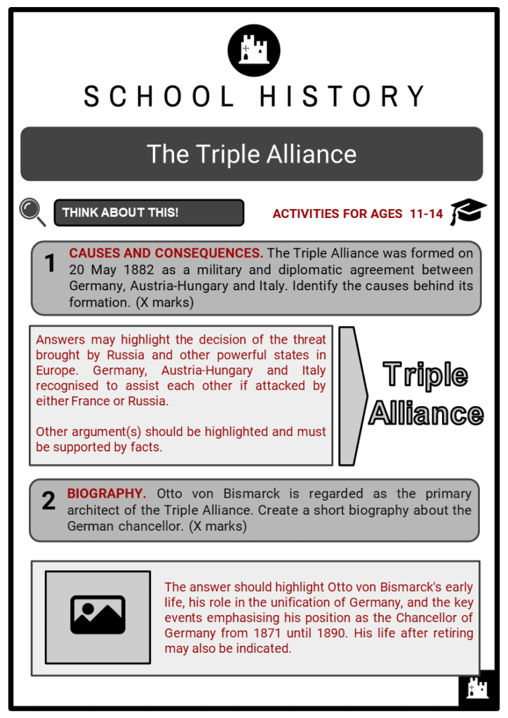 The Triple Alliance Student Activities & Answer Guide 2