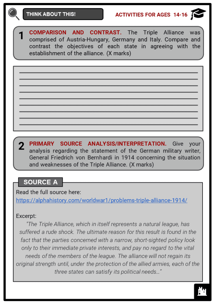 The Triple Alliance Student Activities & Answer Guide 3