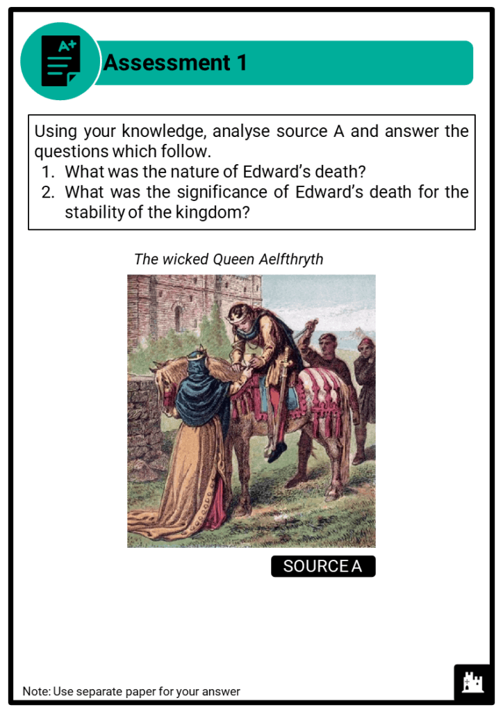 A Level Aethelred, 978-1016 Assessment 1