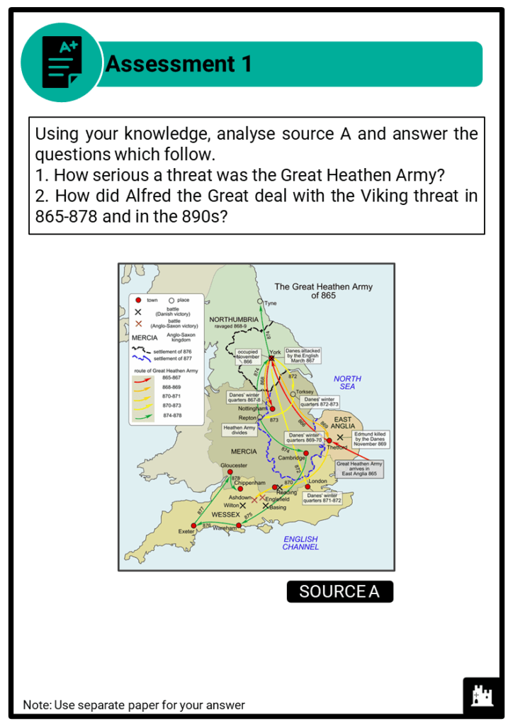 A Level Alfred the Great, 871-899 Assessment 1