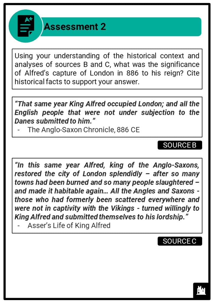 A Level Alfred the Great, 871-899 Assessment 2