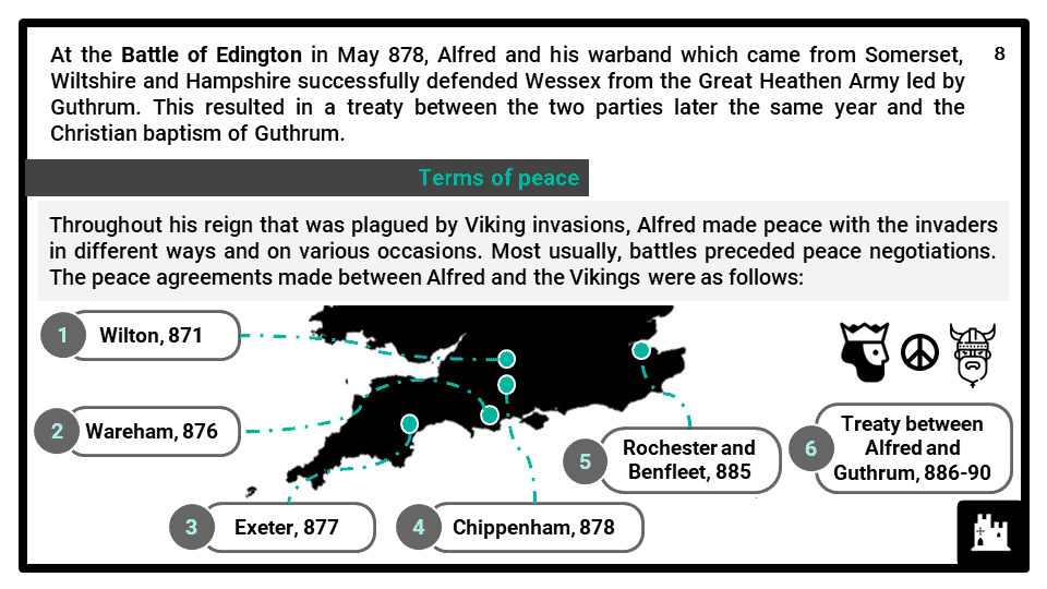 A Level Alfred the Great, 871-899 Presentation 4
