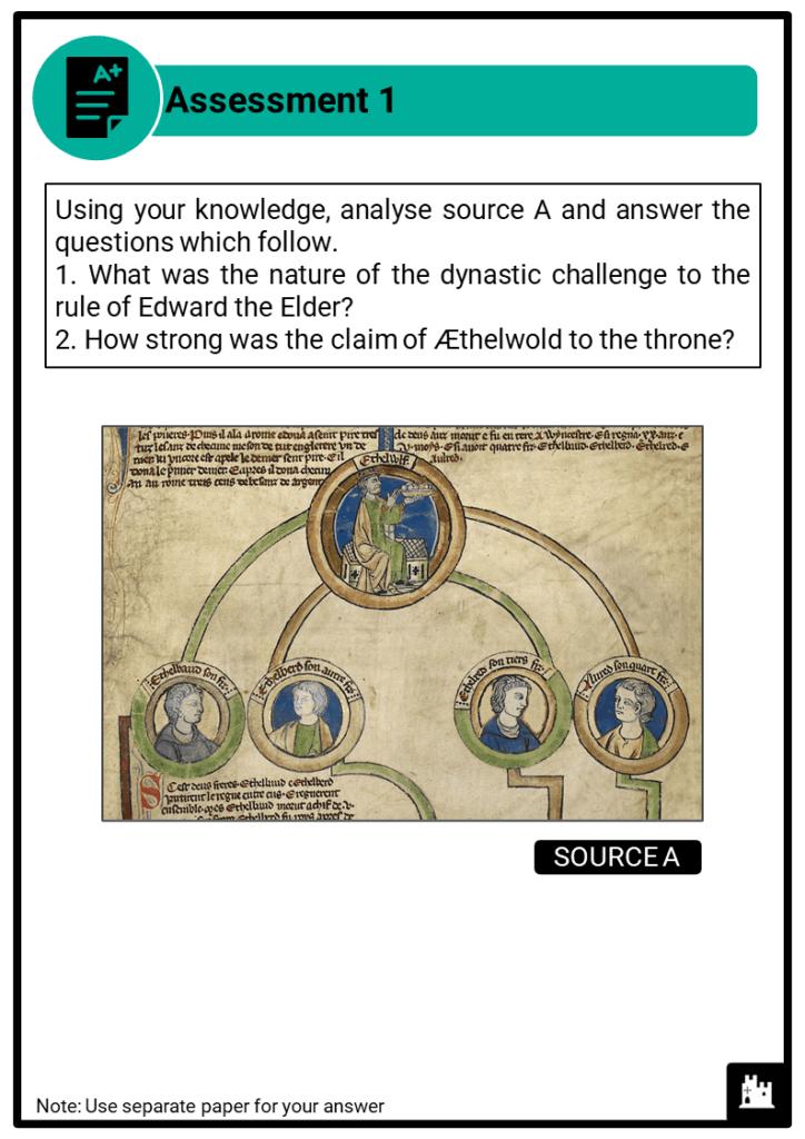 A Level Edward the Elder, 899-924 Assessment 1