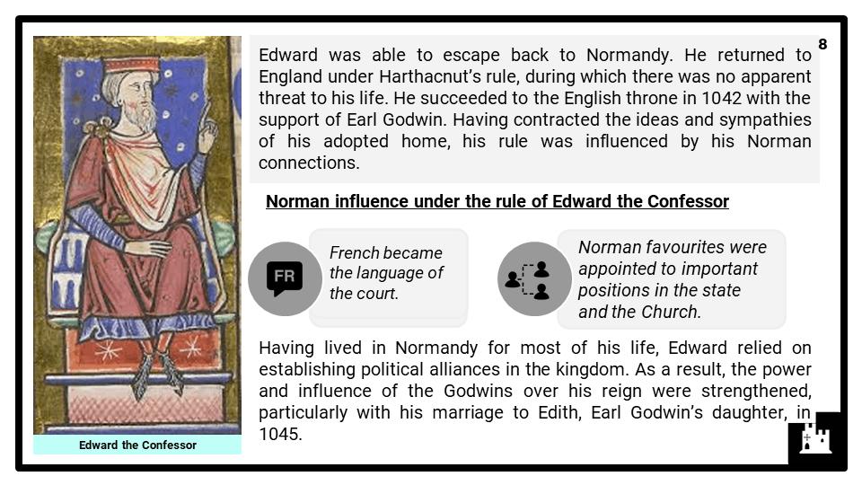A Level Late Anglo-Saxon England, 1035-1066 Part 1 Presentation 4