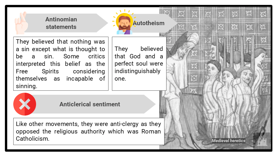 A Level Support for heretical movements Presentation 4