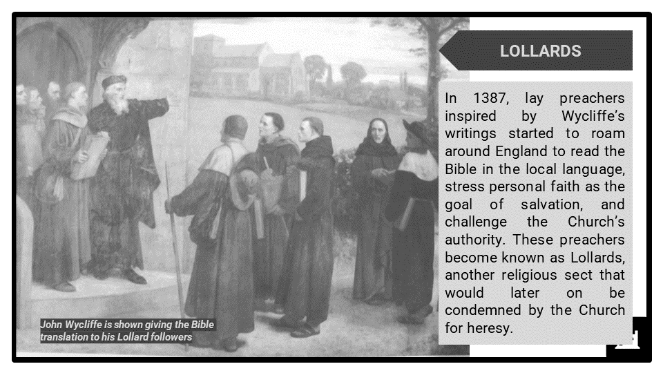 A Level The Church and Medieval Heresy_Significant figures Presentation 4