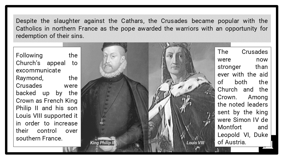 A Level The impact of heretical movements upon the medieval Church Presentation 4