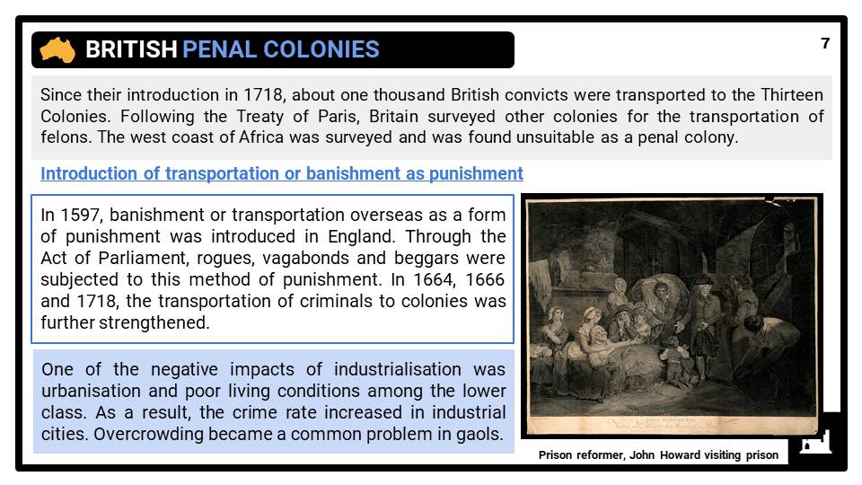Australia and penal colonies presentation 3