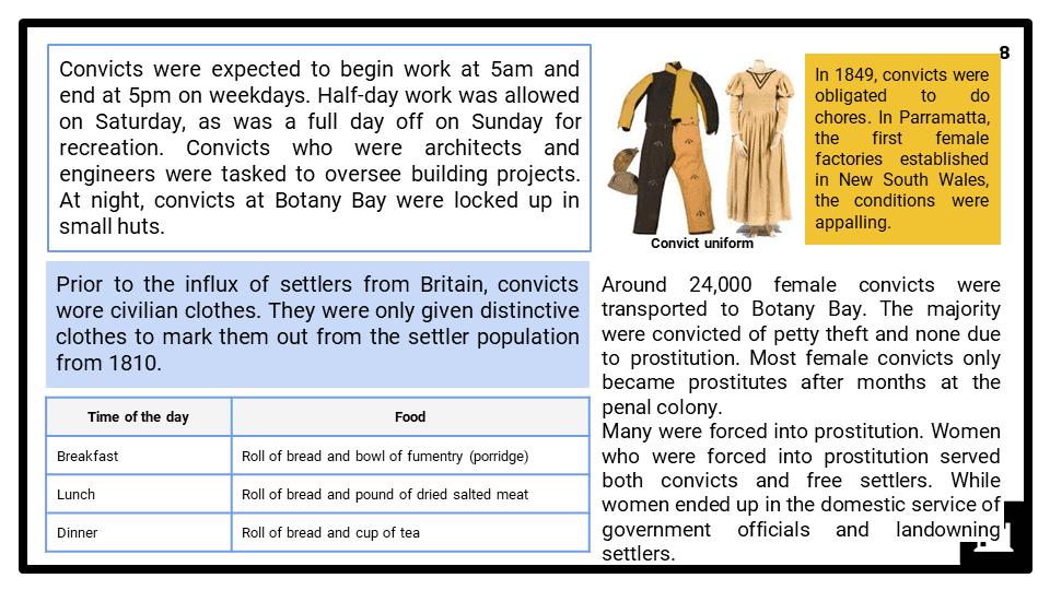 Australia and penal colonies presentation 4