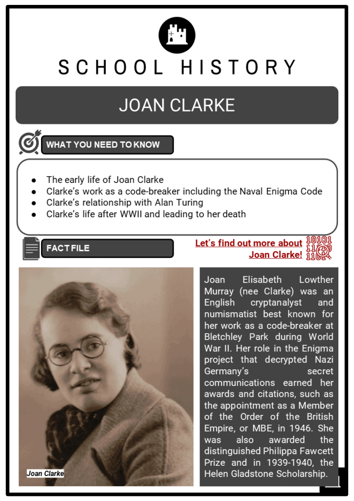 Joan Clarke Resource Collection 1