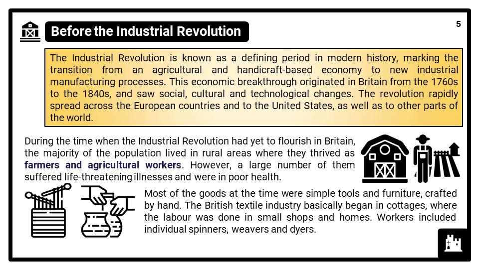 KS3_Area 3_The Industrial Revolution in Britain 1