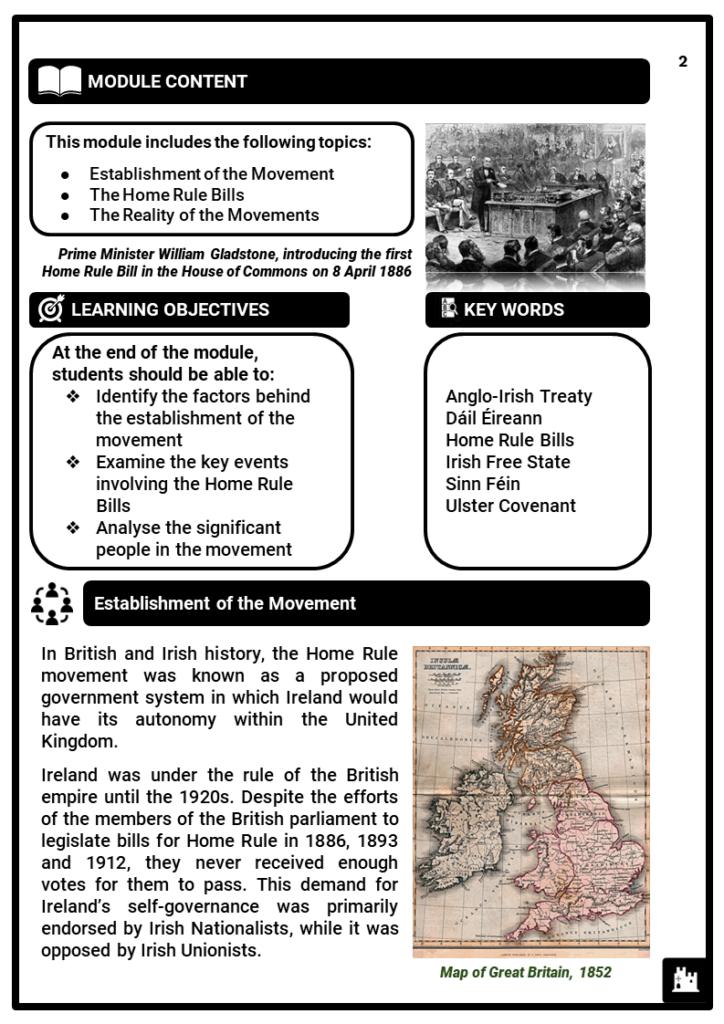 KS3_Area 3_The Irish Home Rule_Printout 1