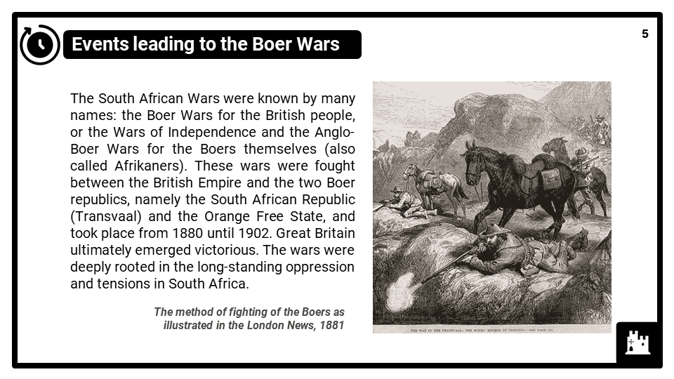 KS3_Area 3_The South African Boer Wars_Presentation 1