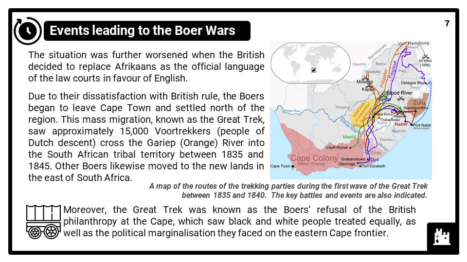 KS3_Area 3_The South African Boer Wars_Presentation 3