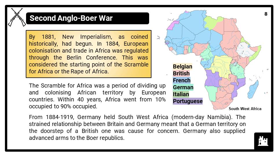 KS3_Area 3_The South African Boer Wars_Presentation 4