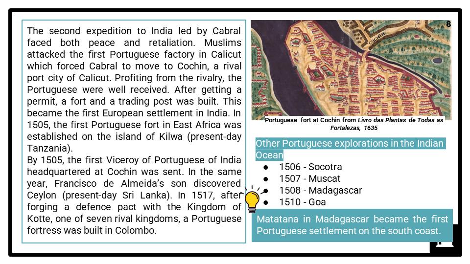 A Level Portuguese encounters and conquest Presentation 4
