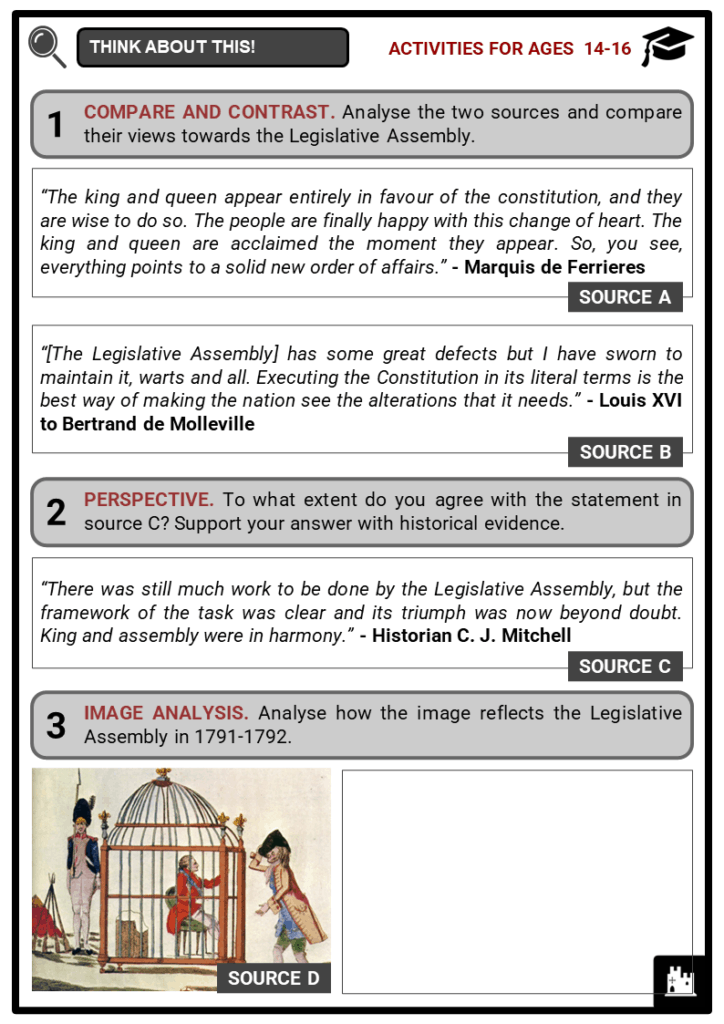 Legislative Assembly Student Activities & Answer Guide 3