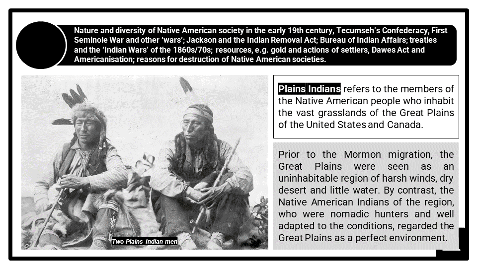 A Level Expansion and Native Americans Presentation 1