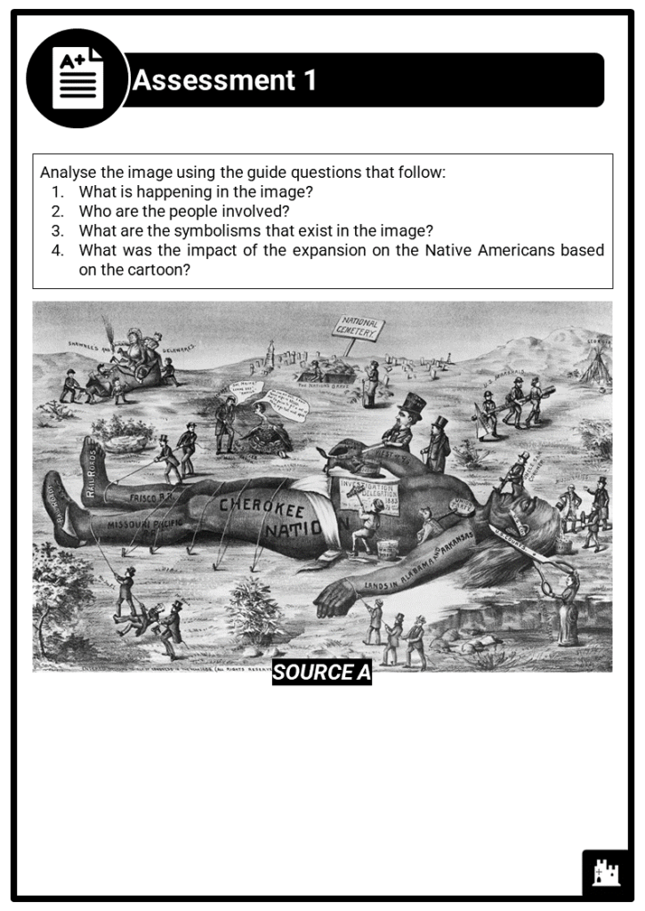 A Level Westward expansion causes and impacts Assessment 1