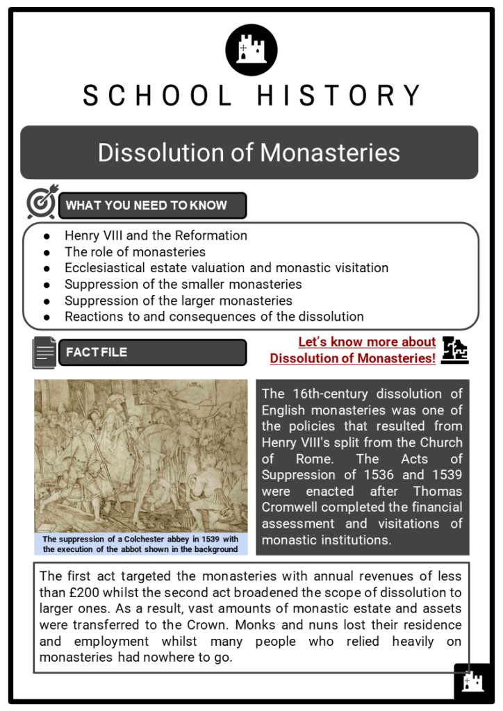 Dissolution of Monasteries Resource Collection 1