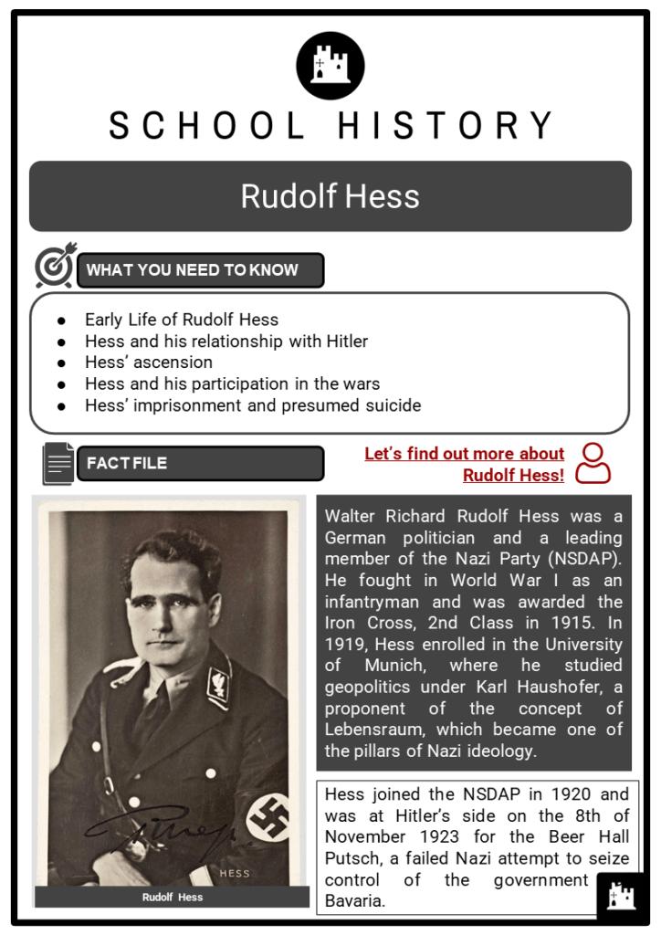 Rudolf Hess Resource Collection 1