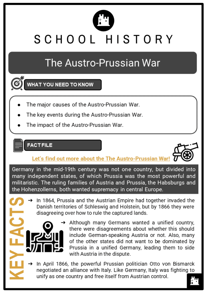 The Austro-Prussian War Resource Collection 1