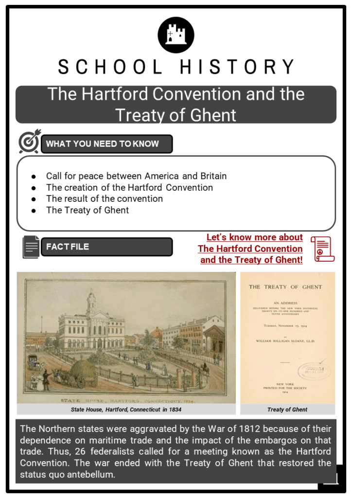 The Hartford Convention and the Treaty of Ghent Resource Collection 1