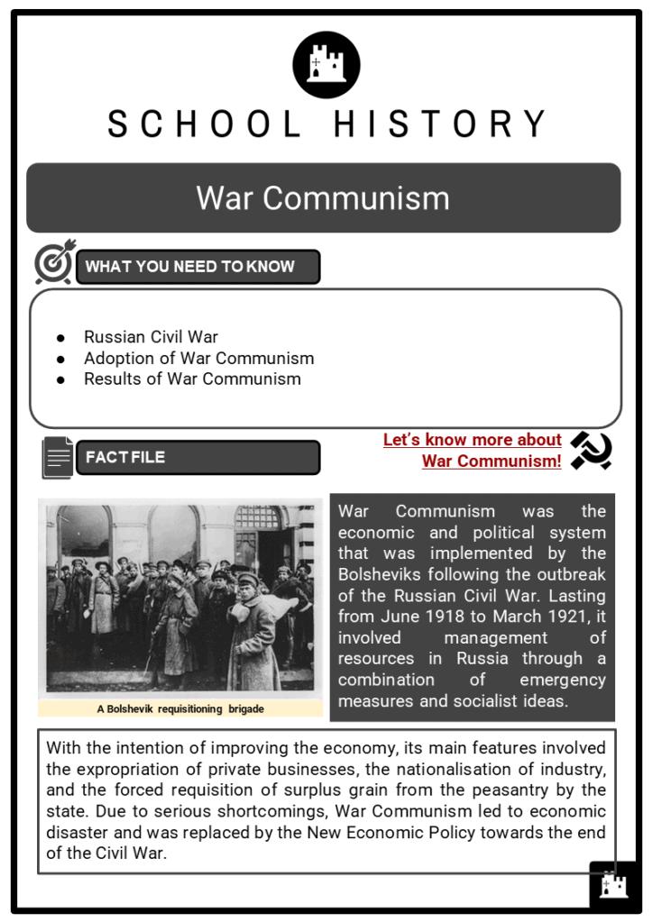 War Communism Resource Collection 1