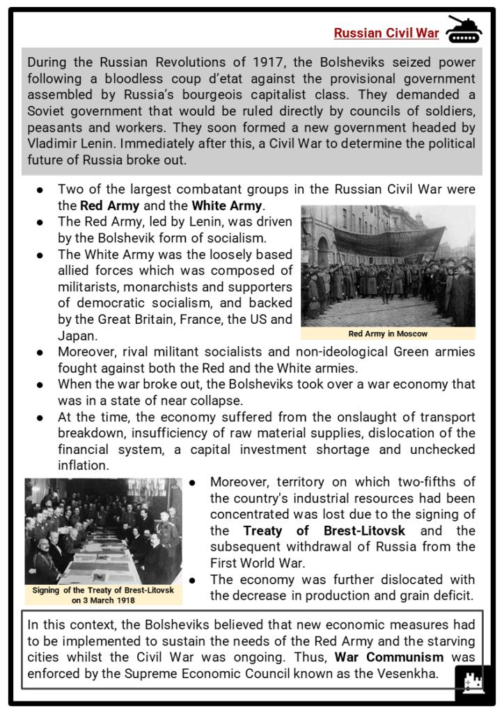 War Communism Resource Collection 2