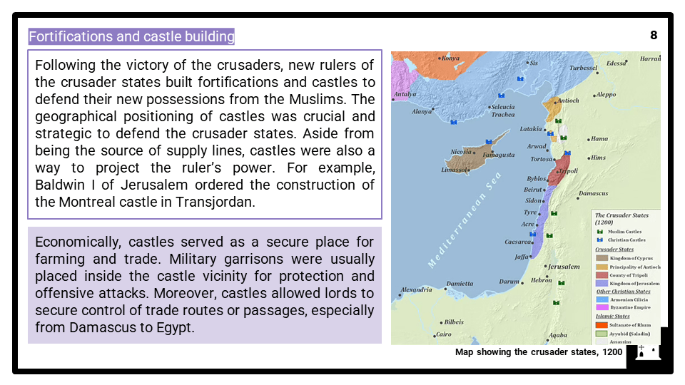 A Level Crusader states of Outremer, 1100-1192 Presentation 4