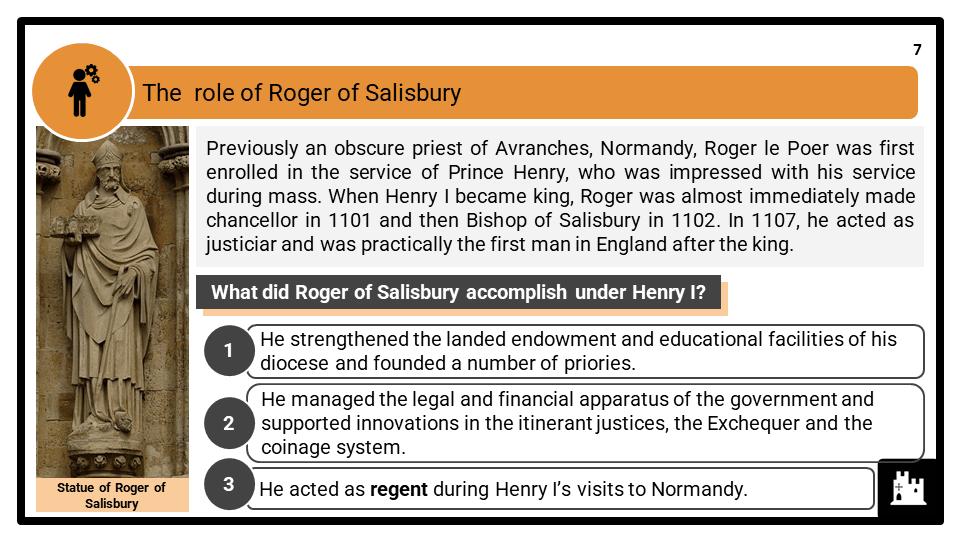 A Level Henry I, 1100-1135 Presentation 3