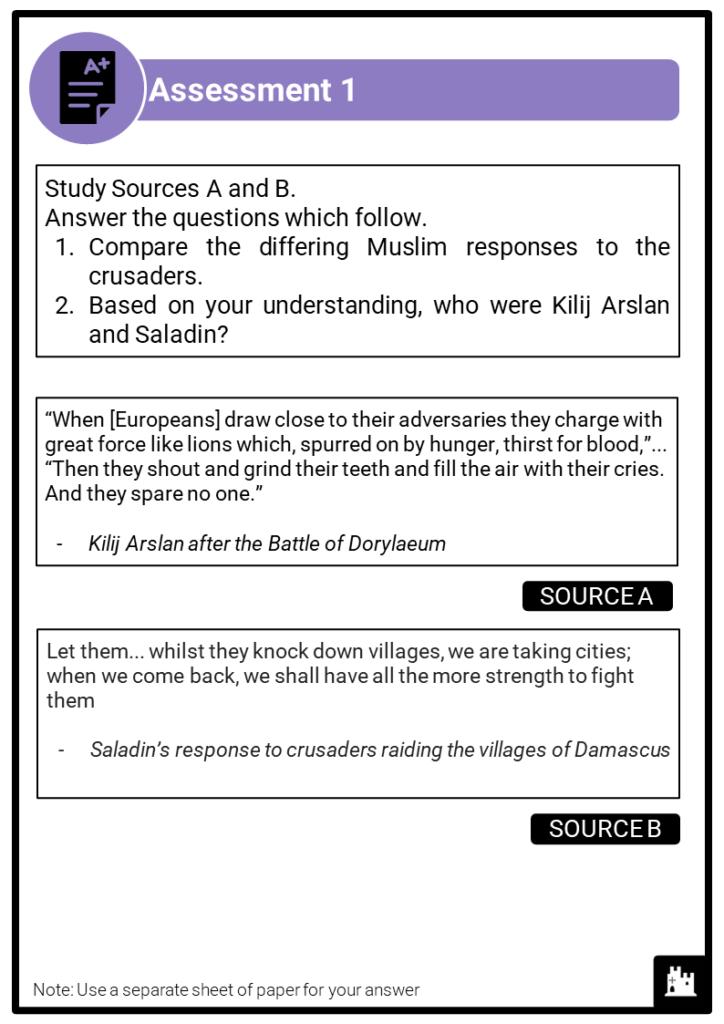A Level Muslim Counter Crusade Assessment 1