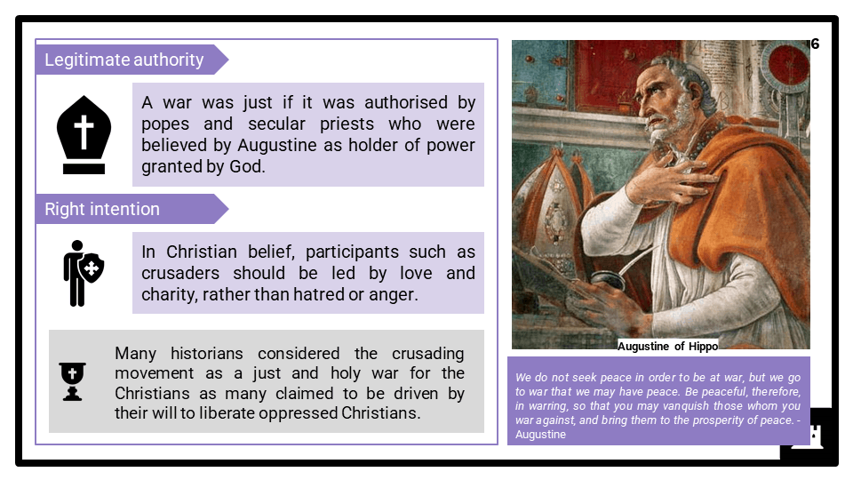 A Level Reasons for the crusades, 1095-1192 Presentation 2