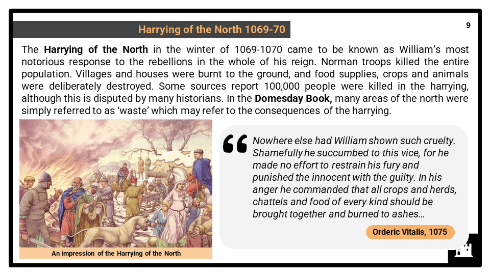 A Level The Norman Conquest of England_ William I, 1066-1087 Presentation 4