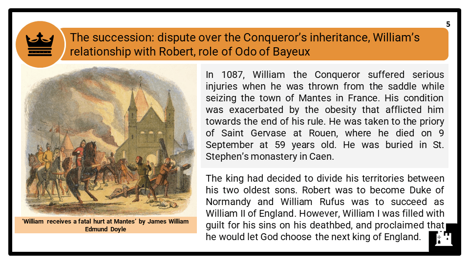 A Level William II Rufus, 1087-1100 Presentation 1