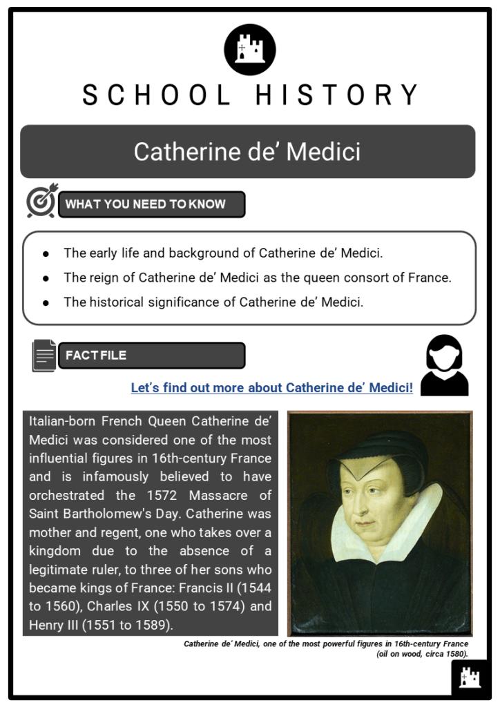 Catherine de' Medici Resource Collection 1