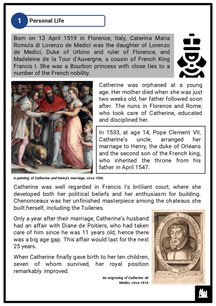 Catherine de' Medici Resource Collection 2