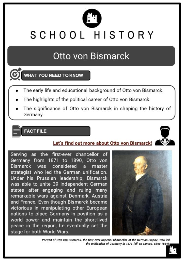 Otto von Bismarck Resource Collection 1