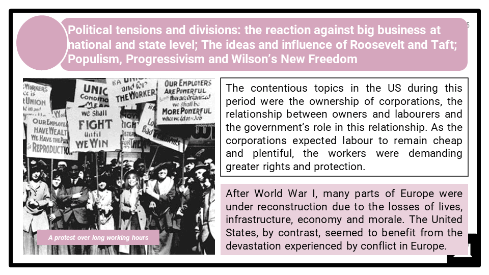 A Level Populism, progressivism and imperialism, 1890-1920 Presentation 1