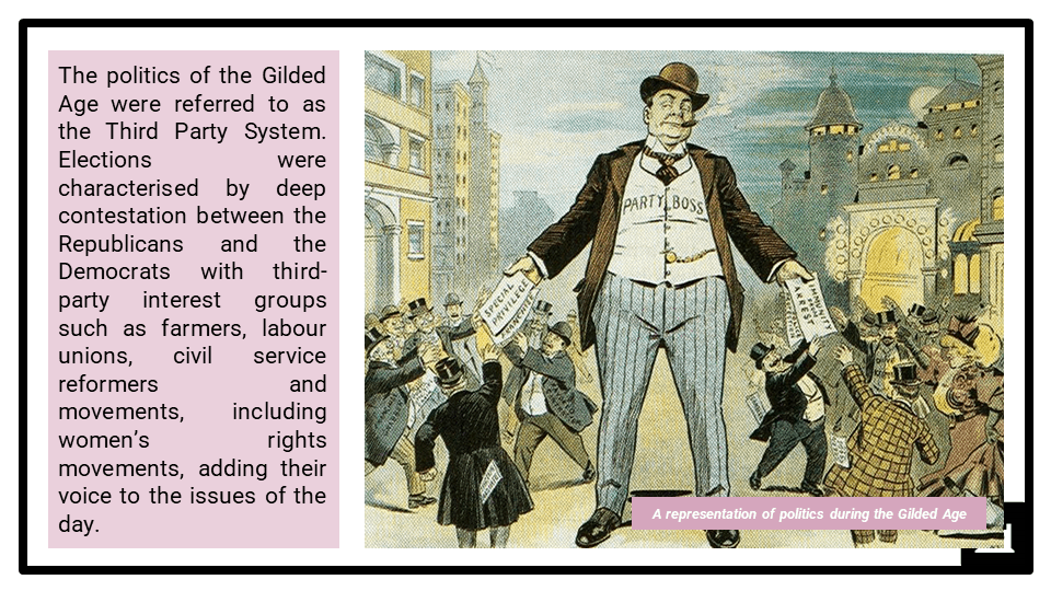 A Level The Gilded Age, 1865-1890 Presentation 2